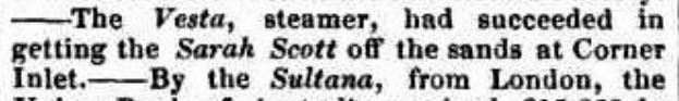 Maitland Mercury and Hunter River General Advertiser (NSW) - 15 Mar 1845