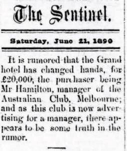 Senteniel 21 Jun 1890 Grand Hotel