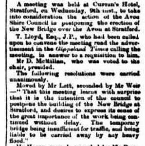 Stratford Bridge c 15 Apr 1873