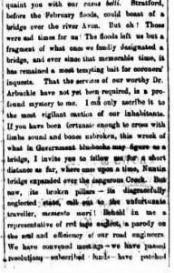 Stratford Flood 1863 - Cropped