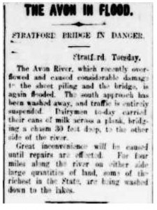 Stratford Flood 1913 - Cropped