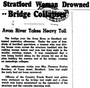 Stratford Flood 1950 - Cropped