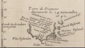 Terra de Diemens 24 Nov 1642