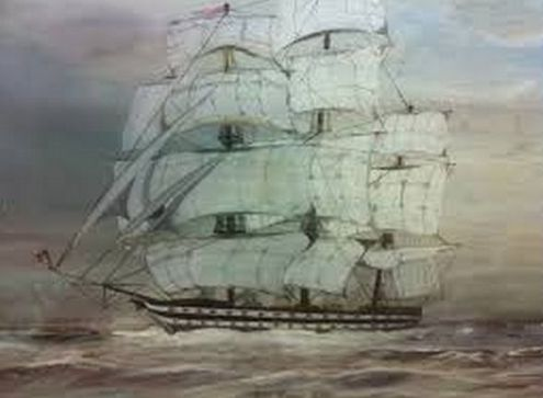 Arrival of Convict Ship 'Ganges'