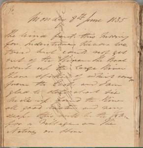 Batman Journal 8 Jun 1835