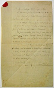 Batman Papers - Request to Marry Eliza - Small