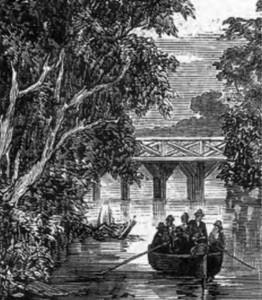 Latrobe Low Level Bridge c 1858 - Small