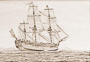 HMS 'Endeavour' b