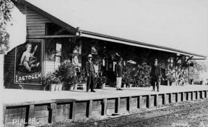 Pialba Railway Station c 1912