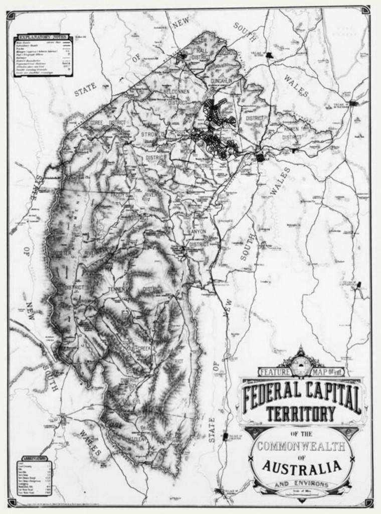 Federal Capital Territory c 1933