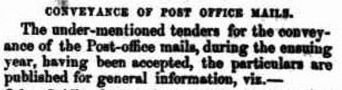 Post Tenders Qld 1851b
