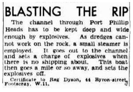 The Age - Blasting the Rip - 6 Jul 1939