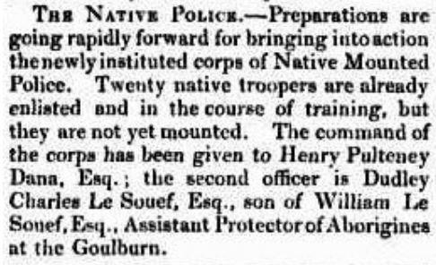 Colonial Times (Hobart, Tas) - Port Phillip - 29 Mar 1842
