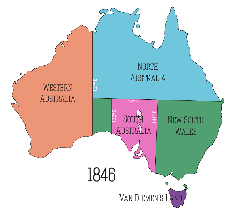 North Australia – Proclaimed