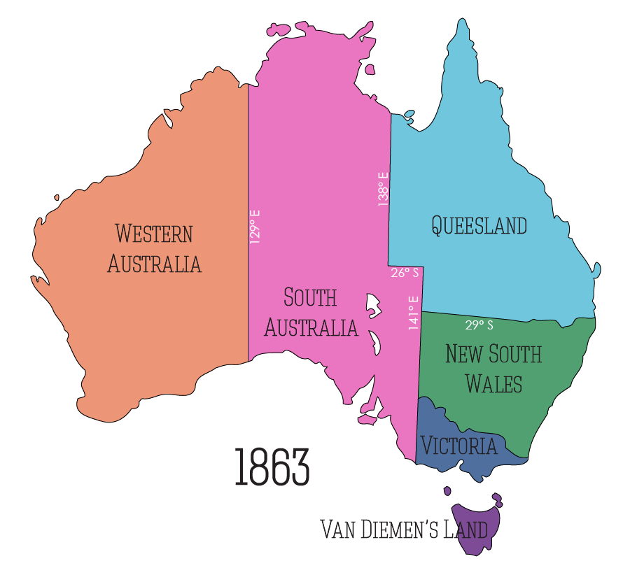 Territory north of South Australia annexed to South Australia
