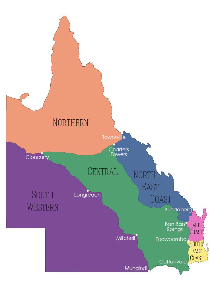 Queensland's Regions