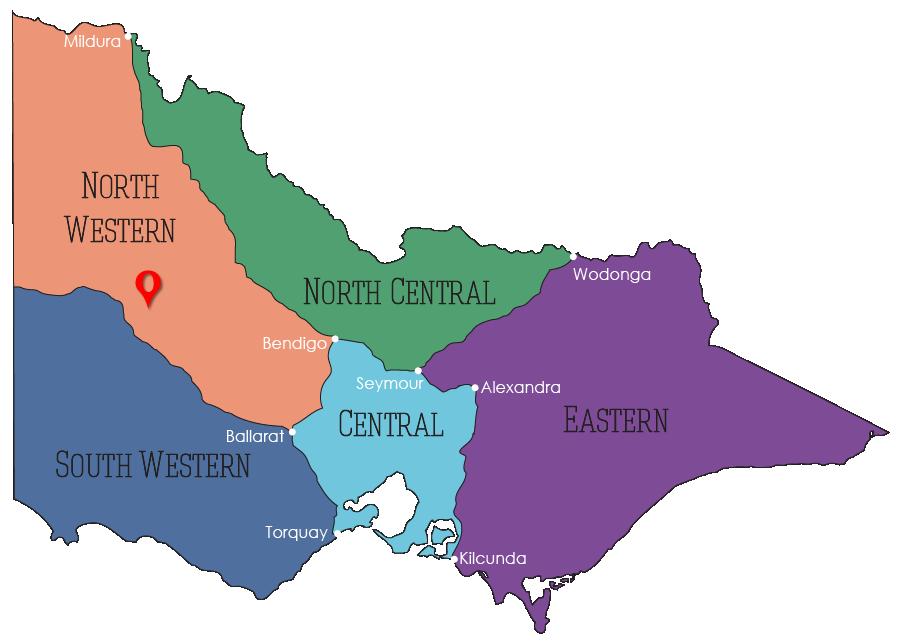North of Longerenong Station – Assault on Aborigines