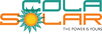 Cola Solar Logo header